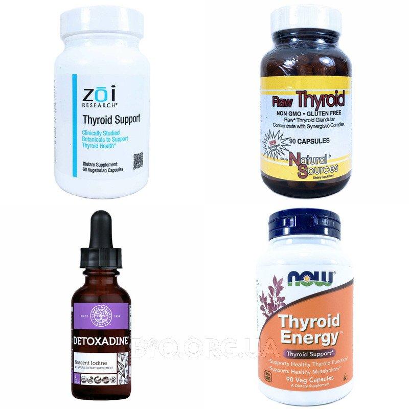 Категория Поддержка щитовидной