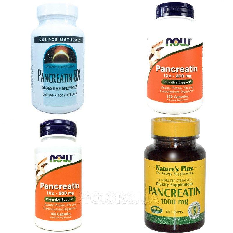 Категория Панкреатин (Pancreatin)