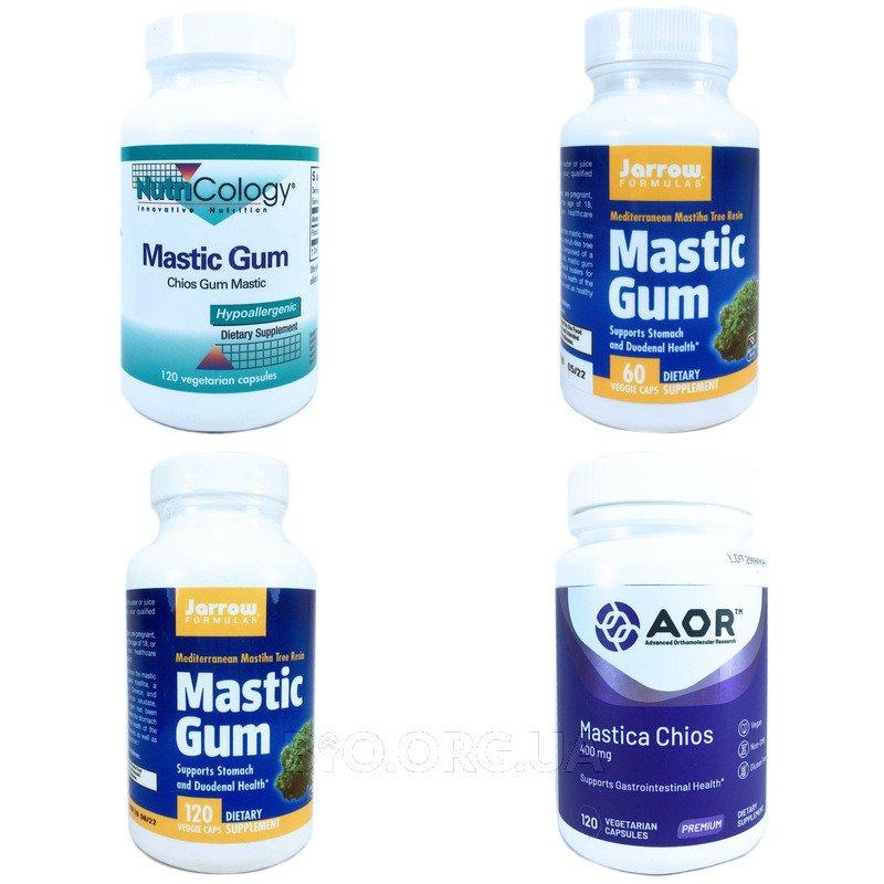Категория Мастиковая смола (Mastic Gum)