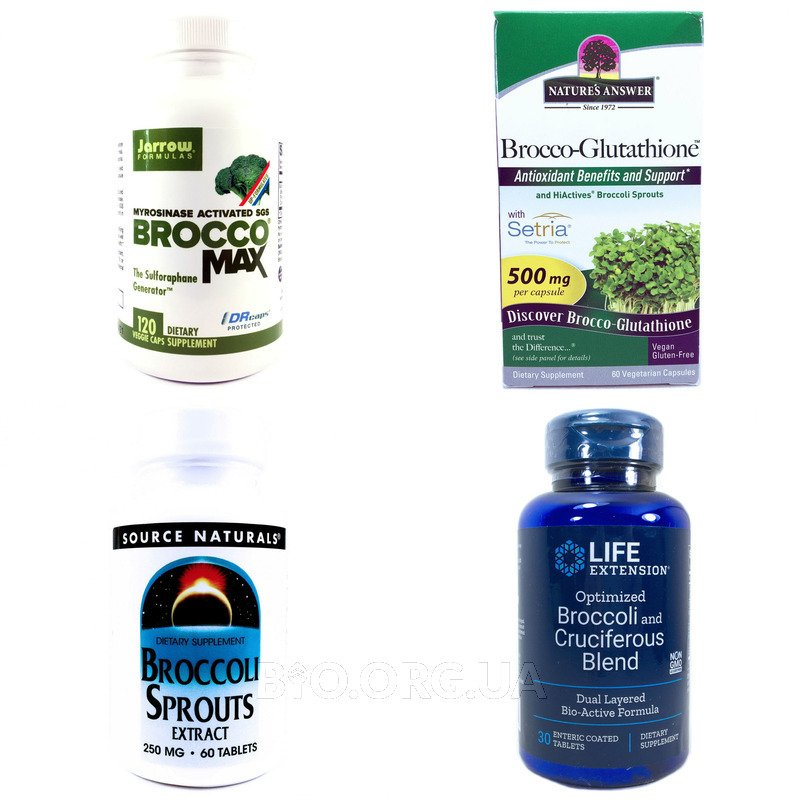 Категория Экстракт ростков брокколи