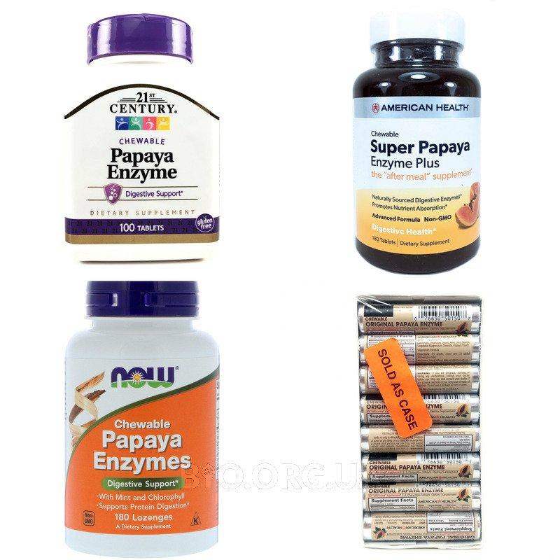 Категория Ферменты Папайи (Papaya Enzyme)