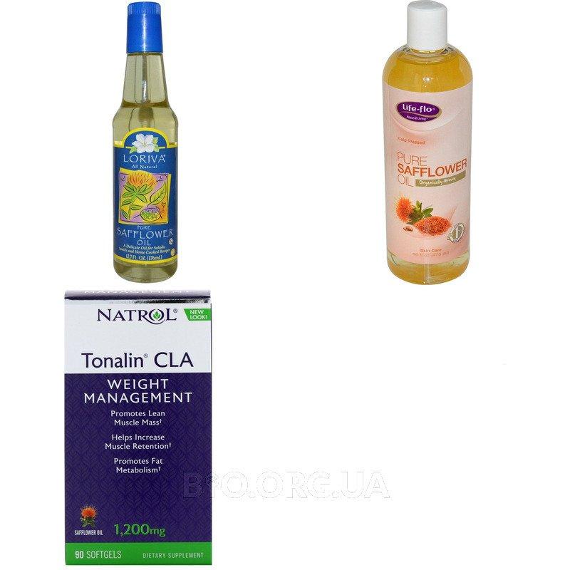 Категория Сафлоровое масло (Safflower Oil)