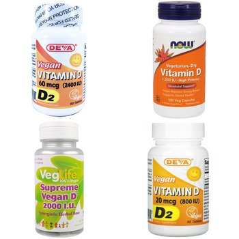 Категория Vitamin D2 (Ergocalciferol)