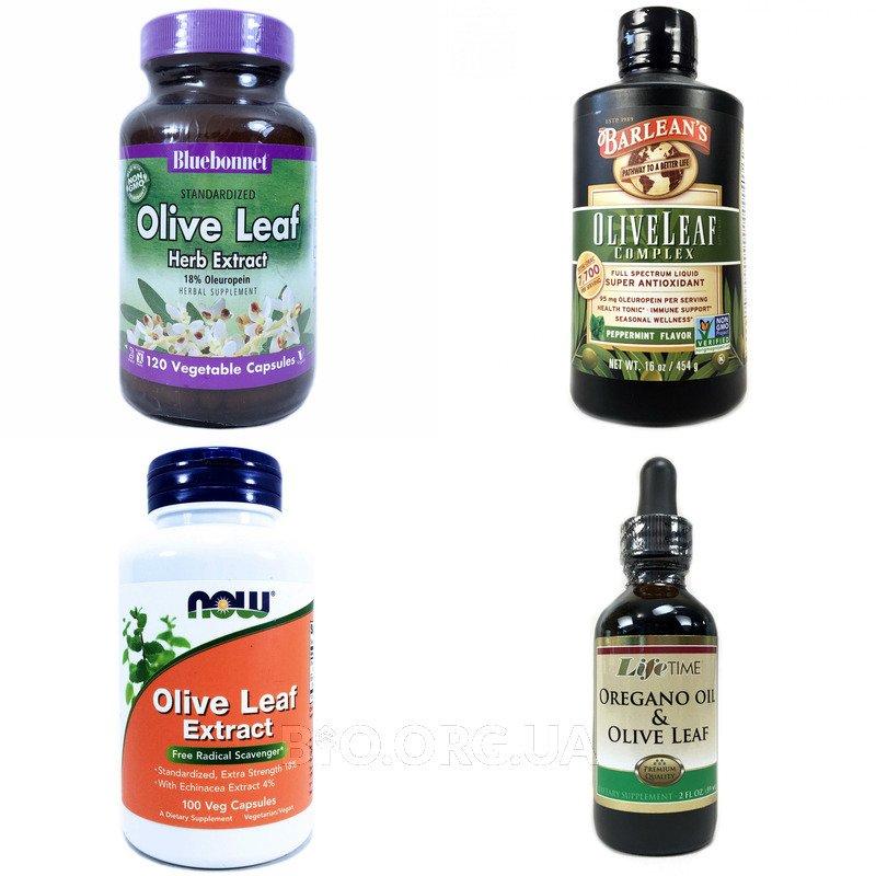 Категория Экстракт оливковых листьев (Olive Leaf)
