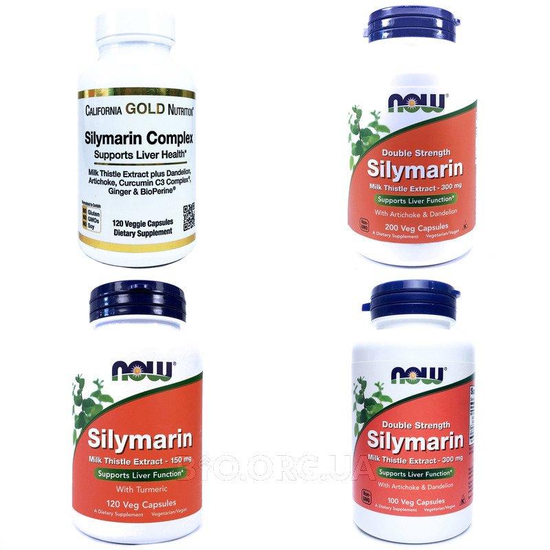 Категория Силимарин, экстракт расторопши (Silymarin)