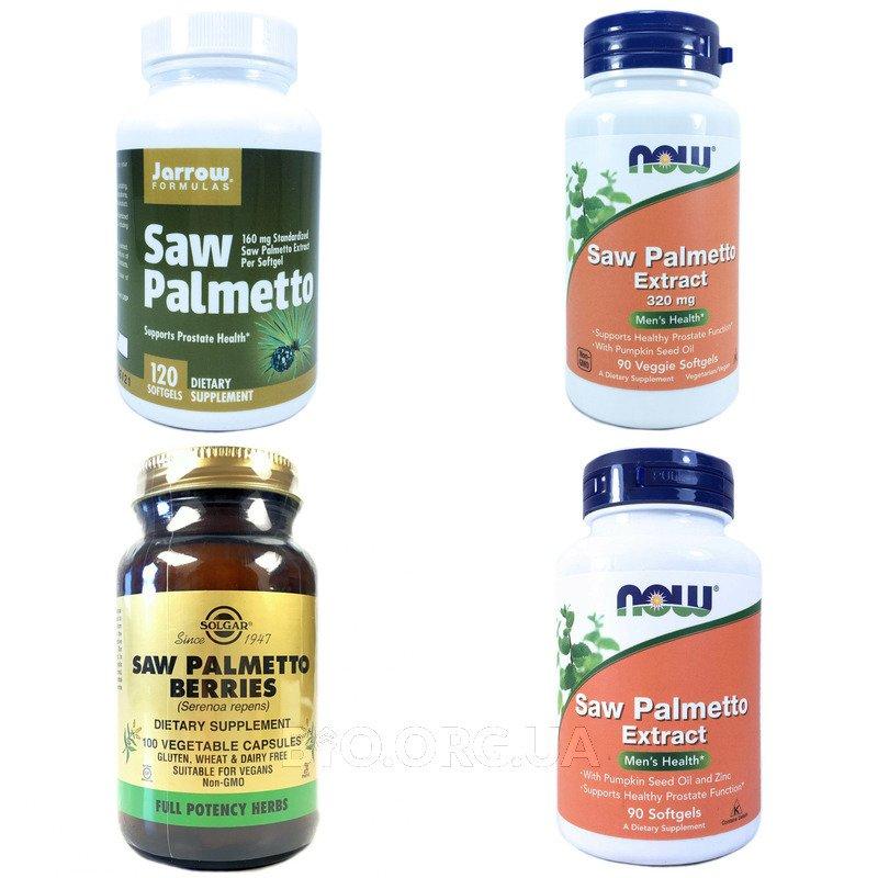 Категория Экстракт Пальметто (Saw Palmetto)