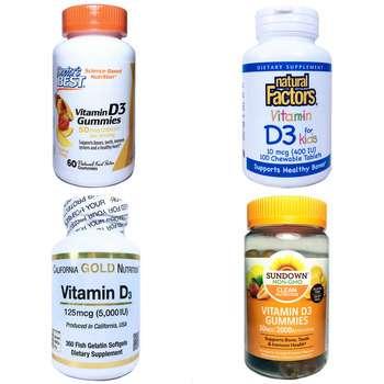 Категория Vitamin D3 Cholecalciferol