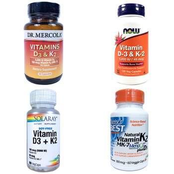 Категория Vitamin D3 & K2