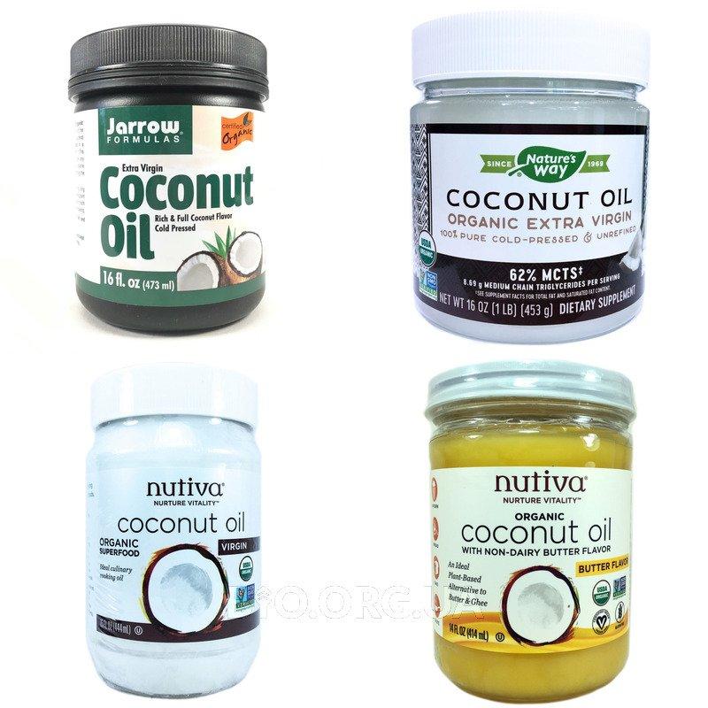 Категория Кокосовое масло (Coconut oil)
