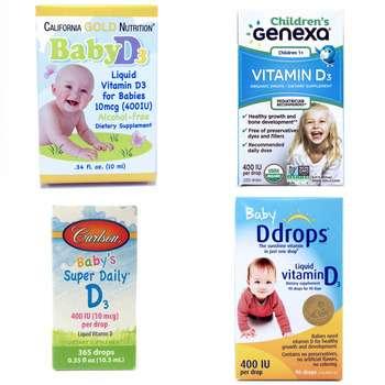 Категория Витамин D3 400-1000 МЕ