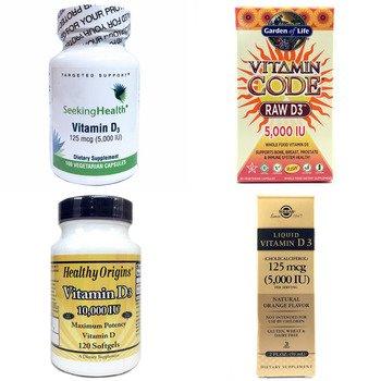 Категория Vitamin D3 5000-10000 IU