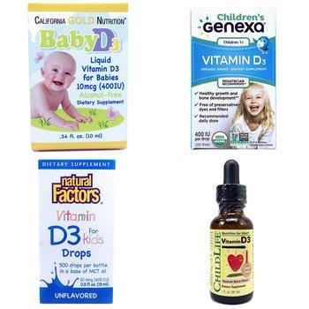 Категория Vitamin D3 drops, liquid