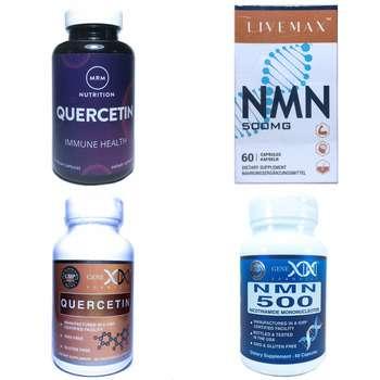Категория NMN, ресвератрол и кверцетин