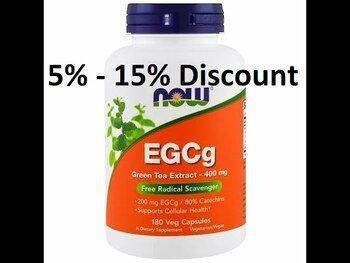 Видео обзор на Эгкг экстракт зеленого чая 400 мг 180 капсул