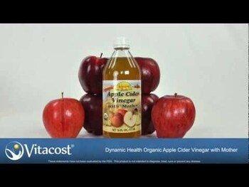 Видео обзор на Органический сырой яблочный уксус
