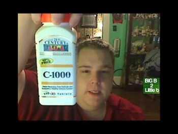 Видео обзор на 21 век Витамин С 1000 мг с замедленным высвобождением 110 табл...