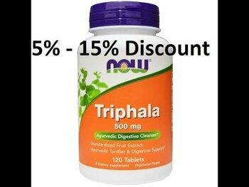 Видео обзор на Трифала 500 мг 120 таблеток