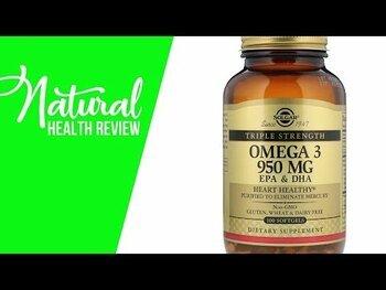 Видео обзор на Омега 3 АЛК ЭПК ДГК 950 мг 50 капсул