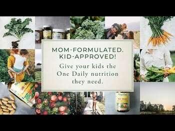 Видео обзор на Мега Фуд детские мультивитамины одна в день 30 таблеток