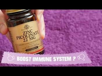 Видео обзор на Цинк Пиколинат 22 мг 100 Таблеток