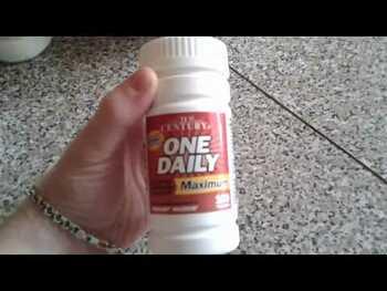 Видео обзор на 21 век Одна в день Мультивитаминны для женщин 50+ 100 таблеток