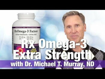 Видео обзор на Нейчералс Факторс RxOмега 3 ЕПА 400 мг ДГЭА 200 мг 240 мягких ...
