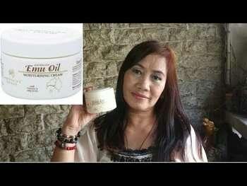 Видео обзор на Крем с маслом Эму и МСМ, алое вера + витамин С 114 г