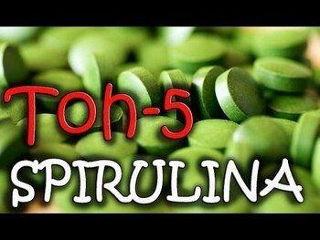 Видео обзор на органическая спирулина 500 мг 30 таблеток