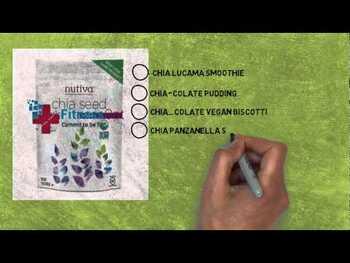 Видео обзор на Нутива черные семена Чиа 340 г