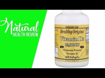 Видео обзор на Витамин D-3 5000 МЕ 360 гелевых капсул
