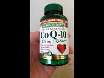 Видео обзор на Nature's Bounty CoQ-10 Twin Pack 200 мг 80 мягких капсул с...
