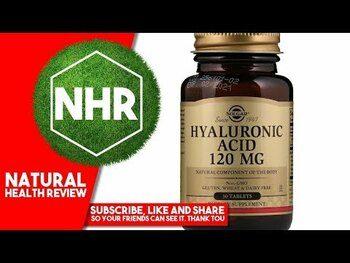 Видео обзор на Гиалуроновая кислота 120 мг 30 таблеток