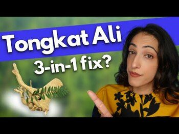 Видео обзор на Тонгкат Али 60 таблеток