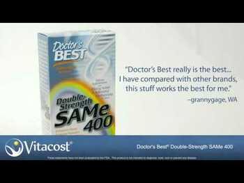 Видео обзор на SAM-e двойная сила 400 мг 60 таблеток с энтеросолюбильной обол...