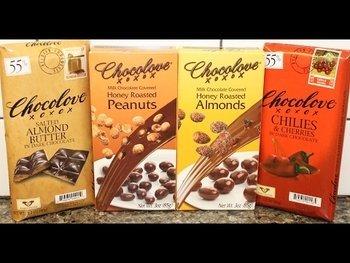 Видео обзор на Черный шоколад с вишней 90 г