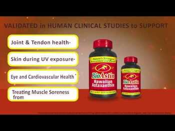 Видео обзор на Нутрекс Гавайи БиоАстин Астаксантин 12 мг 50 веганских капсул