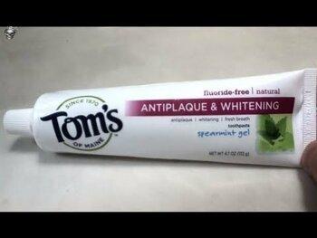 Видео обзор на Томс Зубная паста без фтора с прополисом и миррой, мята перечн...