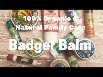 Видео обзор на Badger Бальзам для трудолюбивых рук. 21 г