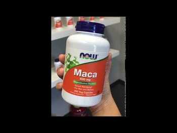 Видео обзор на Мака 500 мг 100 капсул