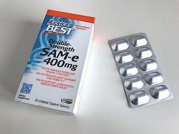 Видео обзор на SAM-e S Аденозил Метионин 400 мг 30 таблеток