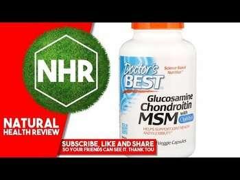 Видео обзор на МСМ с глюкозамином хондроитином и OptiMSM 240 растительных капсул