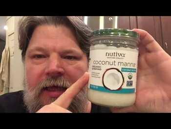 Видео обзор на Органическое кокосовое масло с ароматом сливочного масла 414 мл