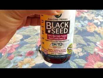Видео обзор на Масло черного тмина 240 мл