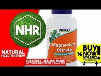 Видео обзор на цитрат магния 200 мг 250 таблеток