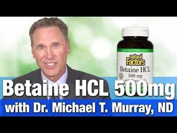 Видео обзор на Бетаин Гидрохлорид 600 мг 90 таблеток