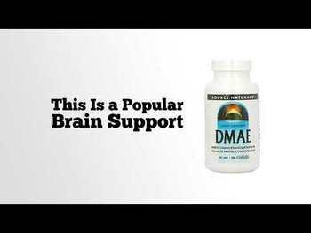 Видео обзор на ДMAE 351 мг 200 капсул