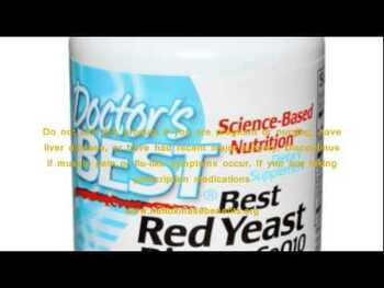 Видео обзор на Красный дрожжевой рис 600 мг 120 вегетарианских капсул