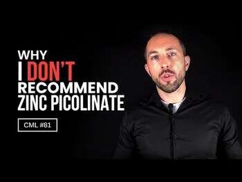 Видео обзор на Пиколинат Цинка 15 мг 60 капсул