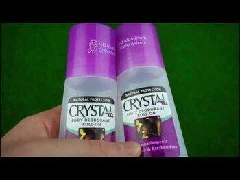 Видео обзор на Crystal Body Дезодорант Минеральный Дезодорант Шариковый без з...