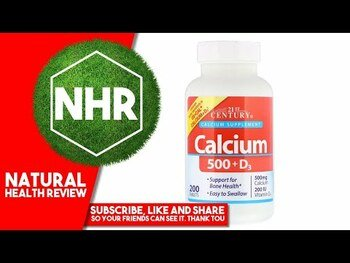 Видео обзор на 21 век Кальций 500 мг Д3 400 капсул